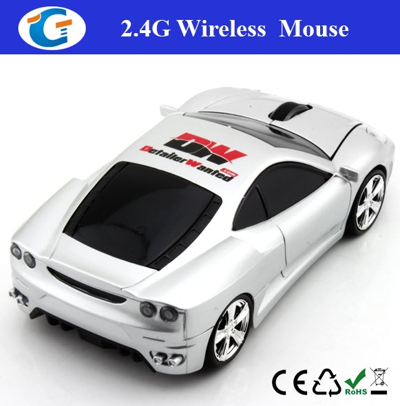 2.4G Wireless Optical Mini Car Mouse
