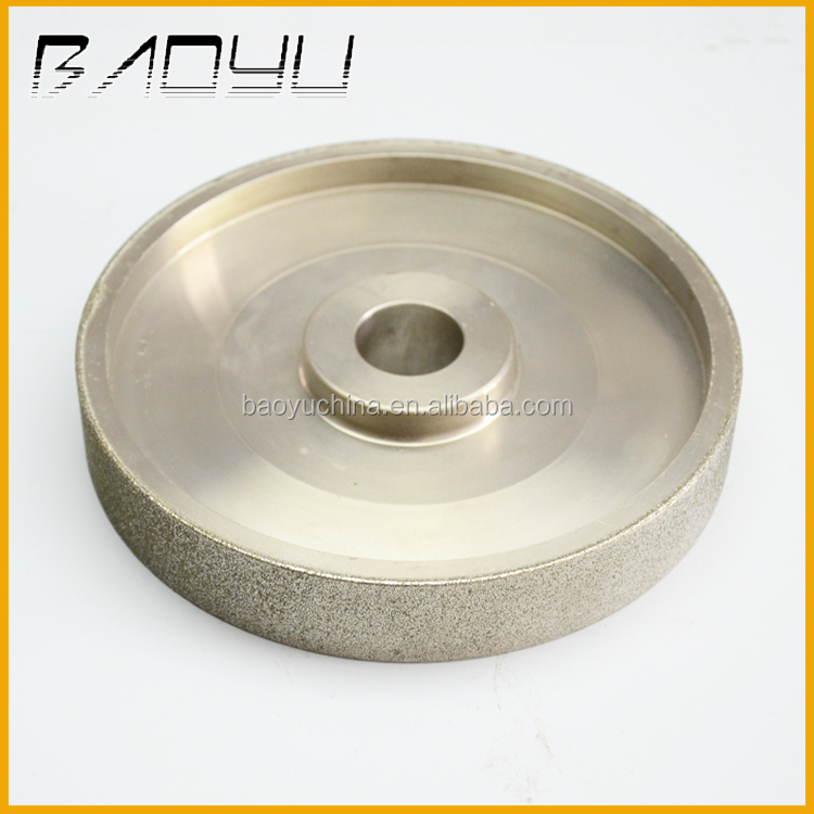 Flat and Curve Shape Diamond Abrasive Grinding Flat Lap Wheel