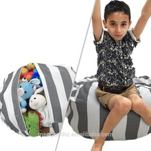 MENGZAN Stuffed Animal Storage Bean Bag Chair for Kids