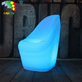 Rechargeable Waterproof LED Folds Sofa Chair Hotel Bar Furniture Chair
