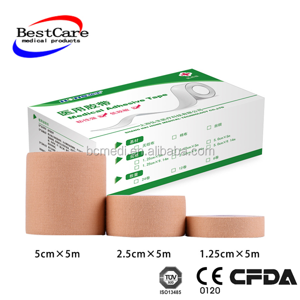 new products free samples medical adhesive tape zinc oxide plaster