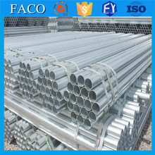 galvanized tube threaded and plain head half circle galvanized pipe