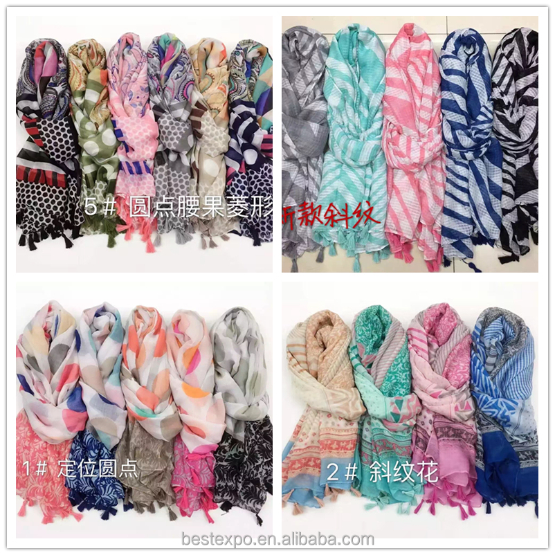 wholesale girls wave point twill scarf jakarta shawl manufacturers modern hijab styles