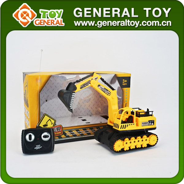 4CH Lighted RC Truck Remote Control Excavator