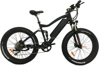 48V750W BAFANG STRONG POWER REAR DRIVE FULL SUSPENSION FAST SPEED FAT TYRE ELECTRIC BIKE