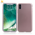 Varnish shockproof hard pc case for iphone X