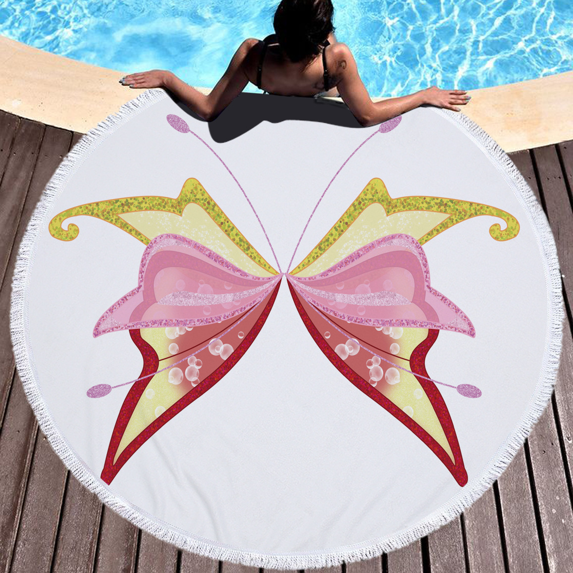 Best Selling Products Round Beach Towel For Sale