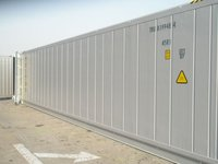us custom imported refrigerated container