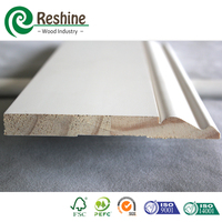 White Primed Finger Joint Wooden Moulding