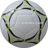 shiny PU promotiaonal socer ball toy size 5 by heima factory with BSCI cetificate