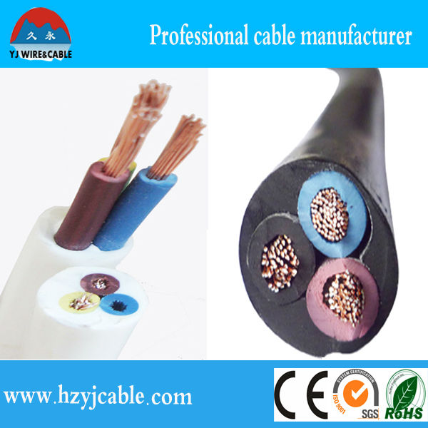 RVV pvc Flexible copper cca aluminum conductor Electrical Cable,multi-standard,China manufacture/H05W-F, Shanghai/Ningbo