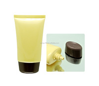 40mm 100ml soft cosmetic tube with plastic package for PE cosmetic soft tube