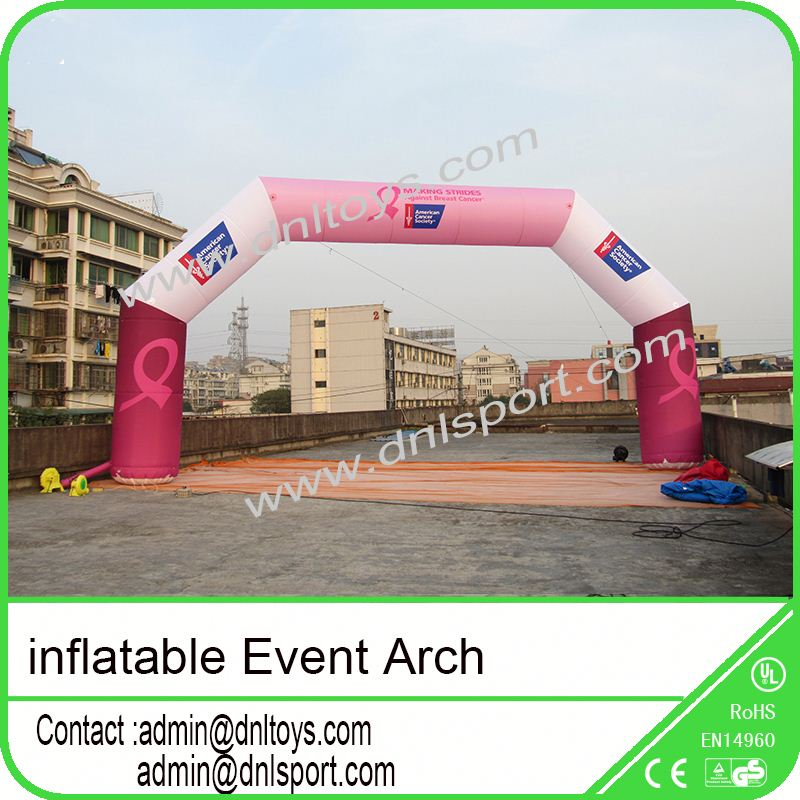 ourtdoor sports racing finish line inflatable arch