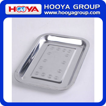 27*20CM Stainless Steel Tray