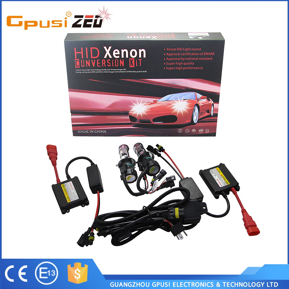 Top Quality Perfect Bright Light 25w hid h4 green xenon hid kit accessory