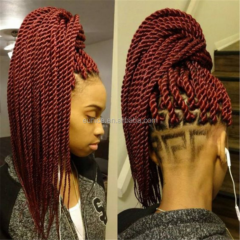 Alibaba Express Wholesale Crochet Braid 100g/pcs Senegalese Twist Hair ...