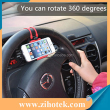 Car Accessories Universal Car Steering Wheel Mobile Phone Holder For iPhone 7 Plus