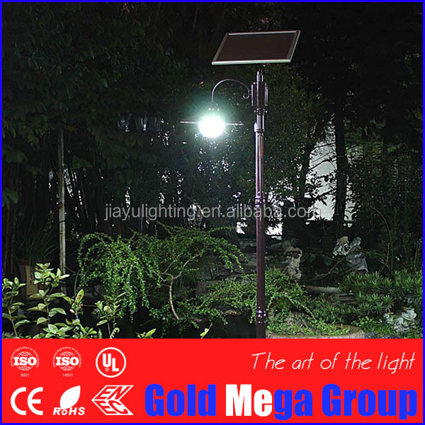 6W Energy Saving Globe Path High Lumen Solar Garden Light LED