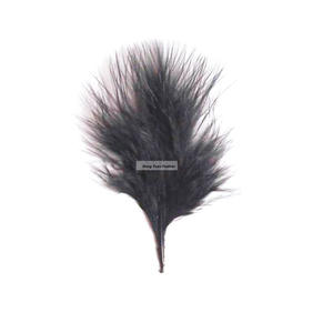 Horng Shya HP-14 Turkey Short Marabou Down 3 Inch Turkey Marabou Feather
