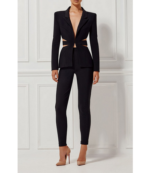 Latest Design Pants Suits Wholesale Sexy Women Suits Business Suits
