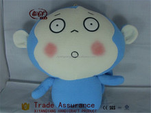 blue monkey toys/stuffed plush toy monkey