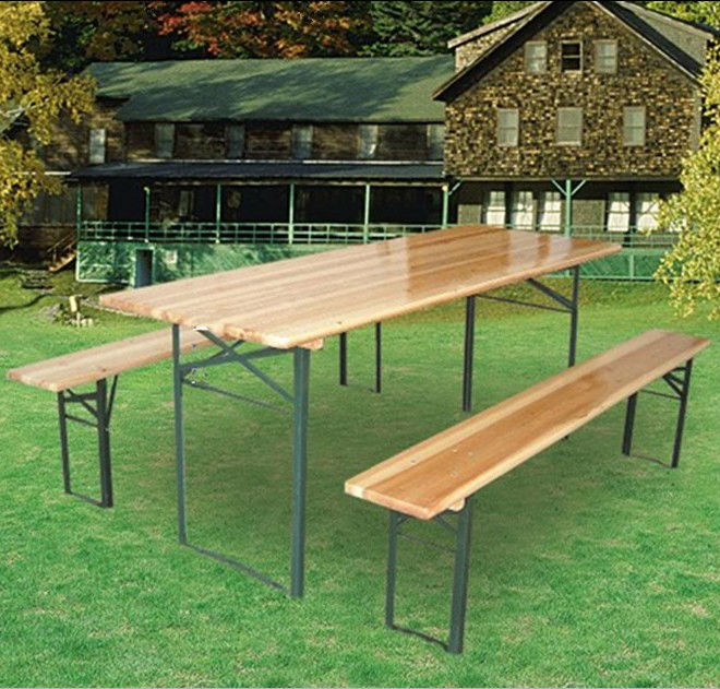 forte di legno giardino della birra tavolo e panca set - buy ... - Tavolo Panca Da Giardino