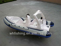 Inflatable Rib Boat 560C with fiberglass hull