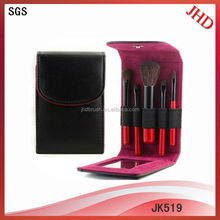 5 piece wholesale emily cosmetic brush set