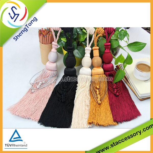 High quality fashion Curtain tassel /big tassel fringe with different sizes hot selling