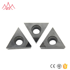 Full Side Diamond Segment Cutter Cbn Pcd Tip Cnc Turning Tool Indexable Inserts With Entire Edge