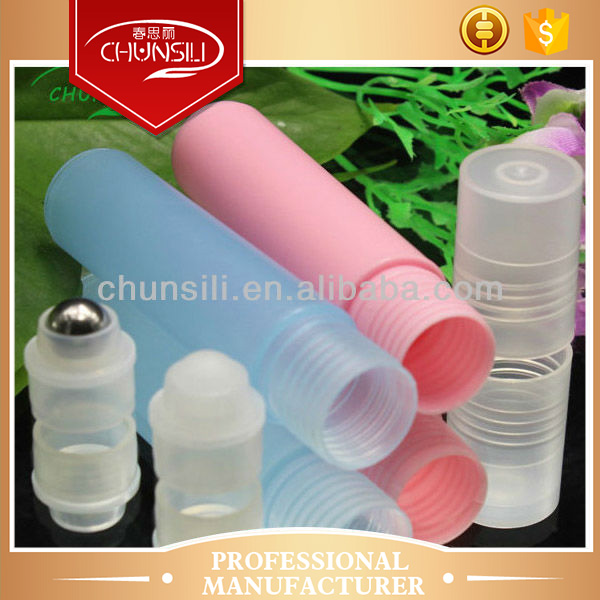 clear colour cosmetic soft plastic tube for craft glass mini bottle