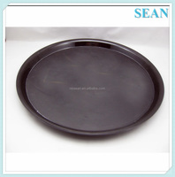 Brand new round plastic serving trays for promotion