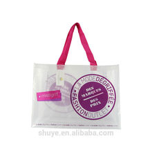 Custom laminated PP woven shopping bag