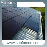 Flexible Solar Energy Roof Rack Pv