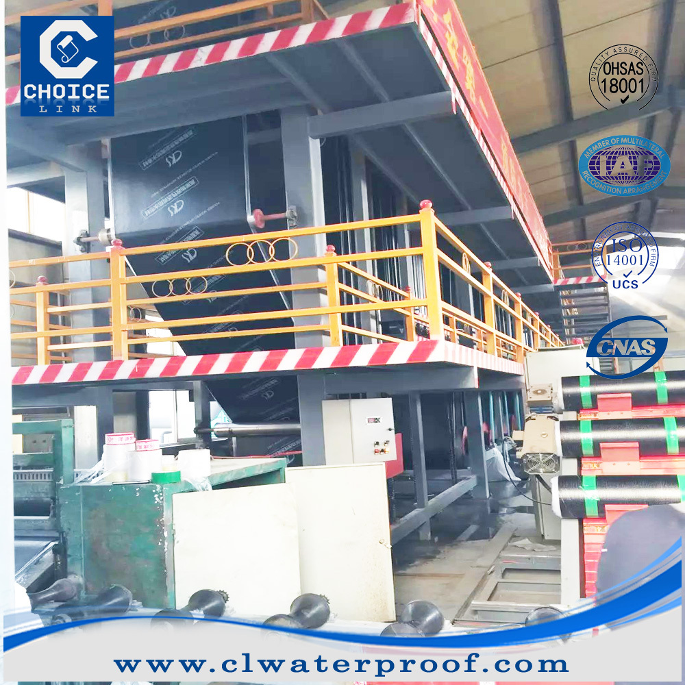 SBS/APP modified bitumen waterproofing membrane production line for manufacture