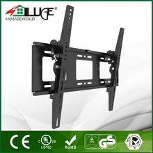 The removable vesa 200-600mm one side adjust tilting fixed tv wall mount bracket for hall big flat LED LCD screen tv