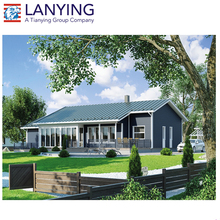 Sandwich Panel prefabricated timber frame house