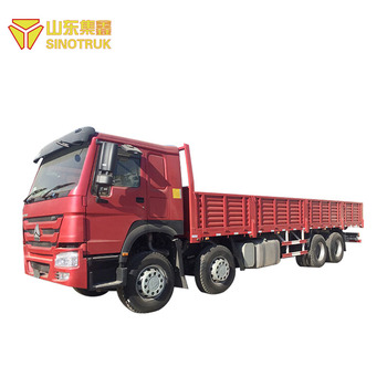 Professional Manufacture lowest cost Heavy Duty Howo 8X4 Cargo Truck for sale