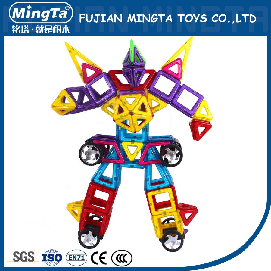 40 pcs Intellective Creative Plastic Magnetic Building Blocks