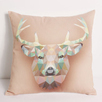 Hand embroidery design pattern office chair cushion cover