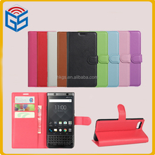 High Quality PU Leather Case For Blackberry Keyone DTEK70 Flip Cover