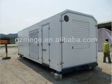 mobile glass generator shelter for sale