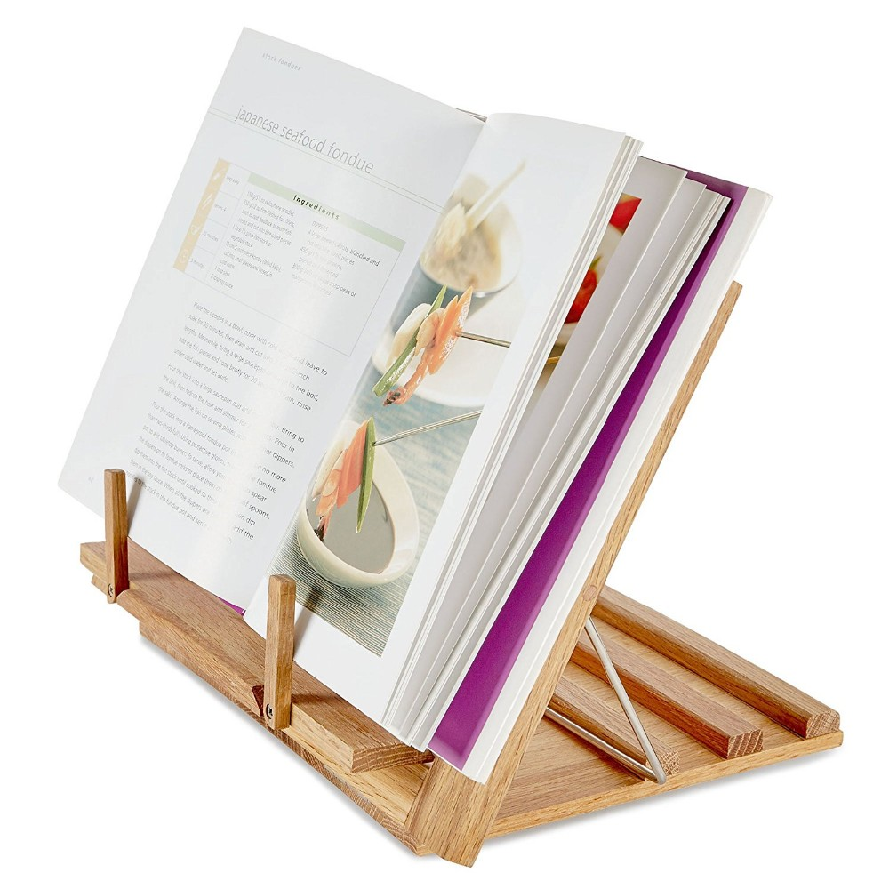 Protecting Eyesight Easily Carry Wooden Book Reading Stand for Sale