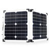 40W Mono High Quality Portable Foldable Solar Cell Panel Tempered Glass PV Solar Panel