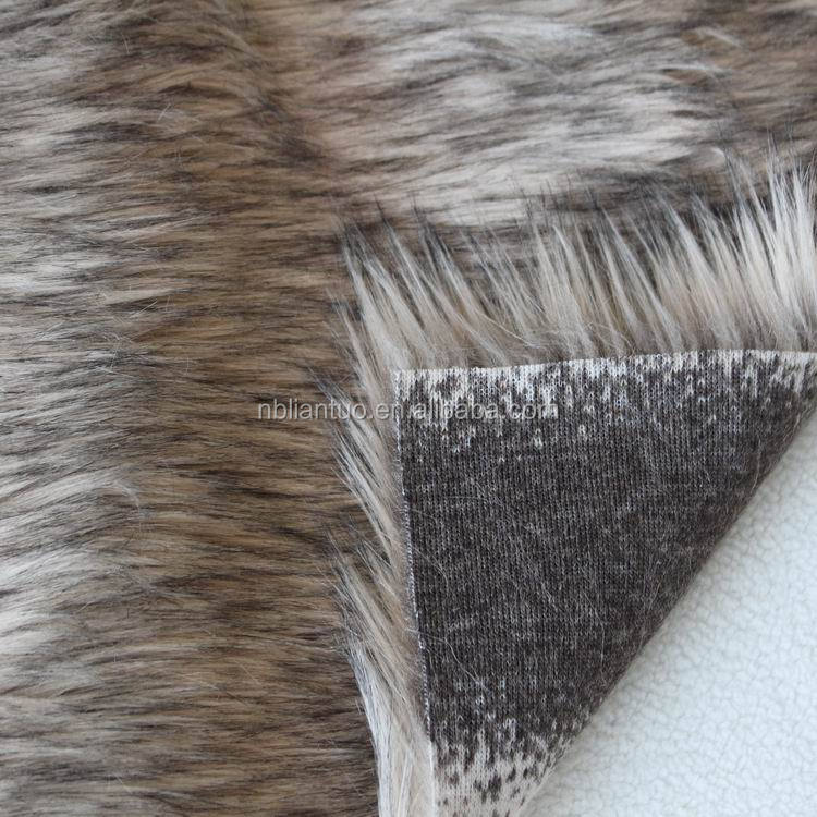 100% Polyester top quality long pile faux fur