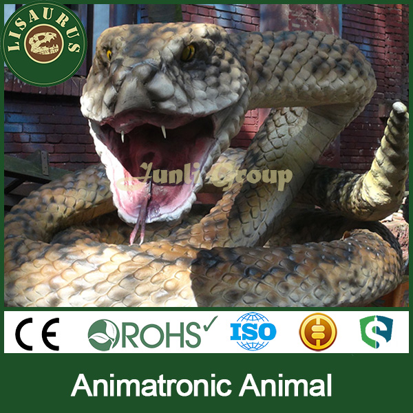 Lisaurus-J Lisaurus huge animal animatronic snake for sale