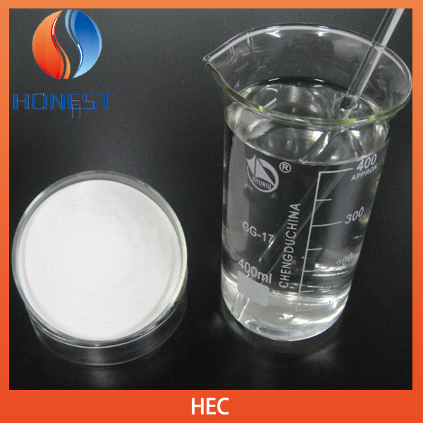 HEC cellulose ether for paint, easy dispersion, excellent color acceptance