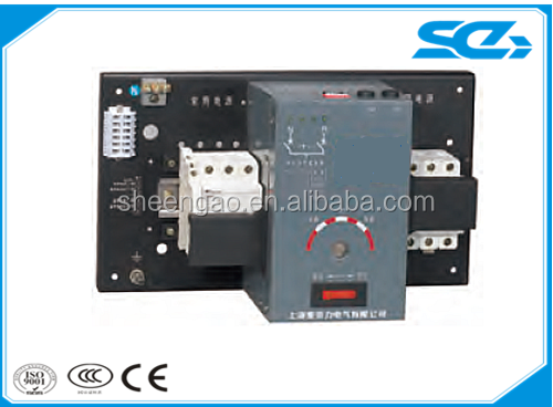 PC class ats start control ATS automatic transfer switch with cabinet panel for generator with generators