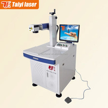 China Taiyi brand high value aluminium name plate laser marker machine