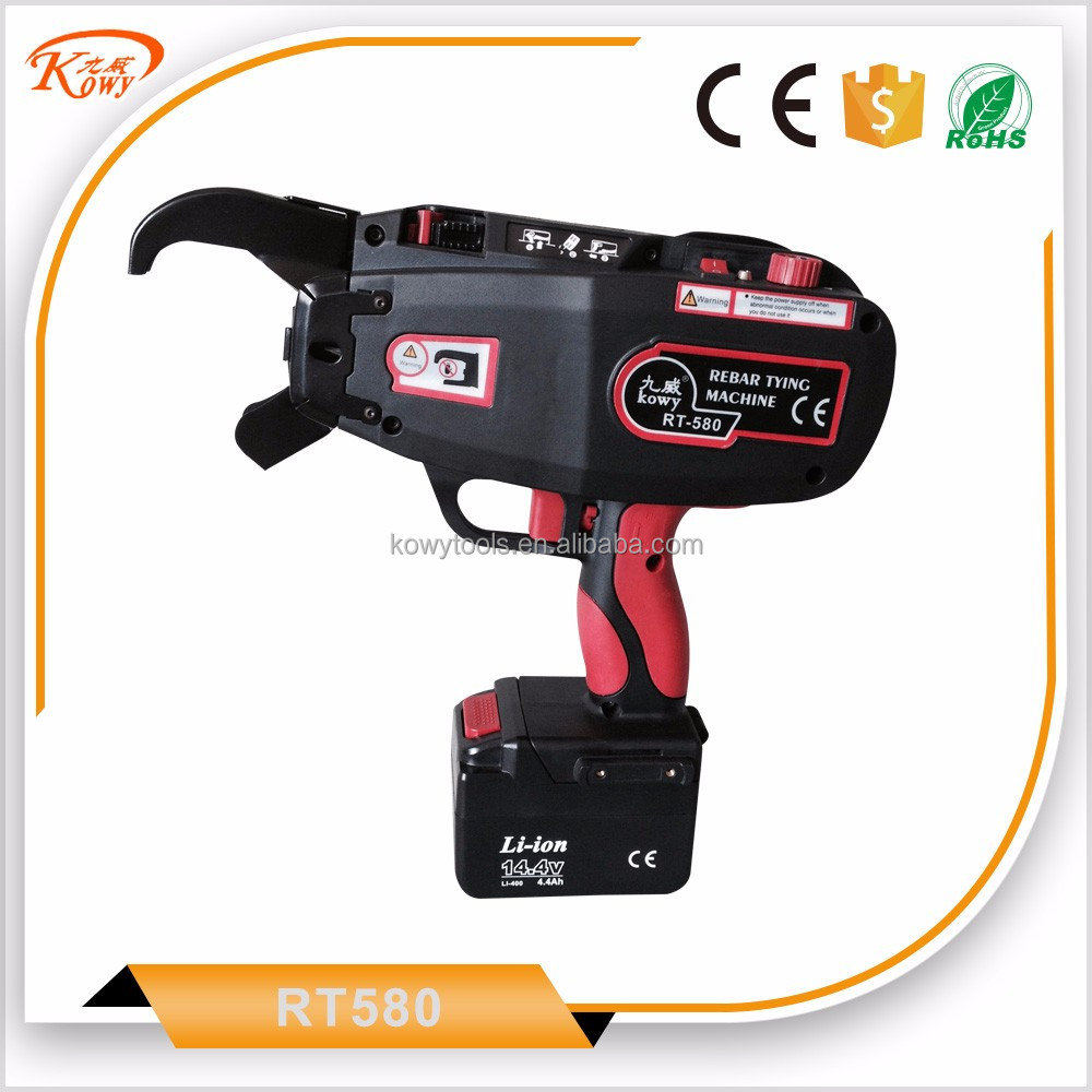 Attractive design automatic max rebar tier rb397 wire twisting tool knot tying machine